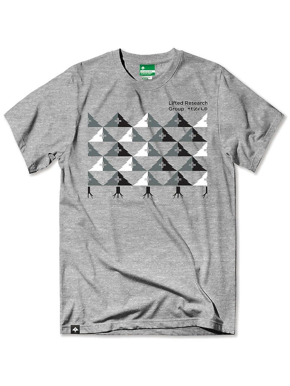 LRG Mens Checkered Tree Short-Sleeve Shirt