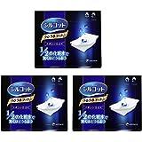 Unicharm 尤妮佳 Silcot省1/2化妆水化妆棉 40枚/盒 *3盒 (日本品牌)