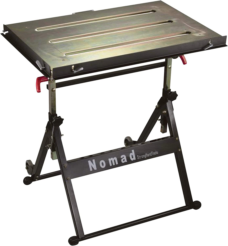 Adjustable Steel Welding Table WELDER CUTTER GRINDING WORK Bench Garage Shop New