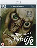 Das Testament Des Dr Mabuse [Masters of Cinema] (Dual Format Edition) [Blu-ray] [1933] [UK Import]
