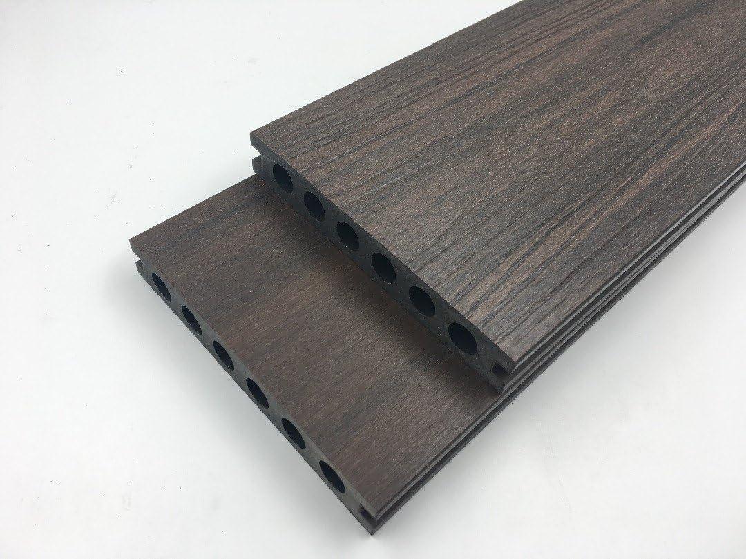 Composite pour terrasse en bois Longueur de 2.4/m seulement /£ 14.85/gratuit P /& P Chocolat antid/érapante et Fade