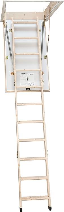Dolle escalera escamoteable, escalera de altillo, termoaislante ...