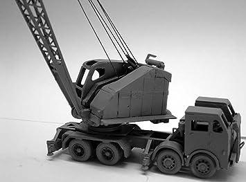 Langley Models Foden FC20 camiones montan escala de OO la pala