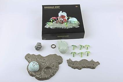 Amazon.com: Feilun - Mosasaurio para bebé con concha de ...