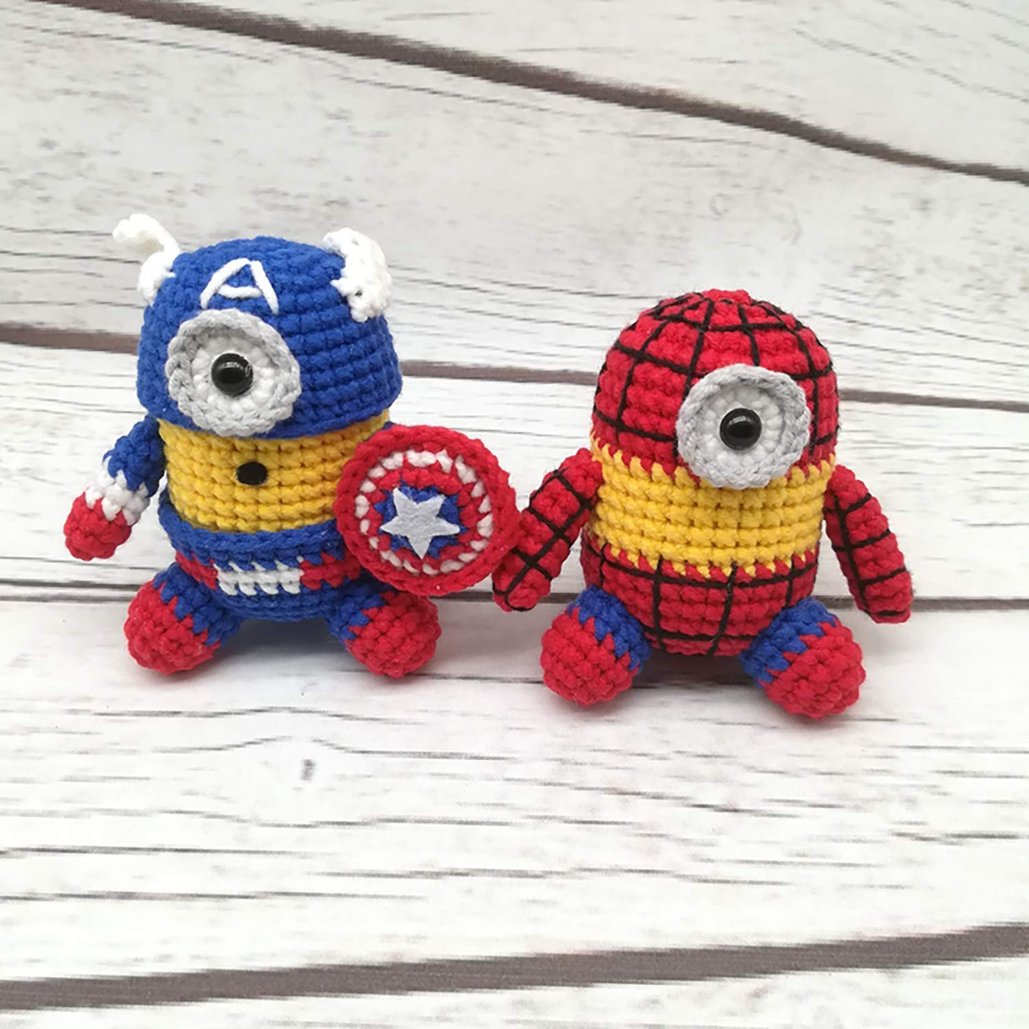 spiderman toys gift for baby boy crochet toy Amigurumi Spiderman toys