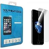 iPhone 7 / 8 ガラスフィルム 液晶保護フィルム 4.7インチ フィルム 強化ガラス 厚さ0.3mm 3D Touch対応 DOLPHIN47 EDGE