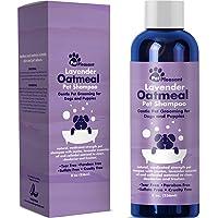 Colloidal Oatmeal Dog Shampoo with Pure Lavender Essential Oils - No Tear Shampoo for…