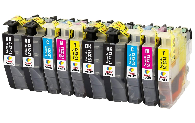 LC3213 TONER EXPERTE® 10 XL Cartuchos de Tinta compatibles con Brother DCP-J572DW DCP-J772DW DCP-J774DW MFC-J491DW MFC-J497DW MFC-J890DW MFC-J895DW | ...