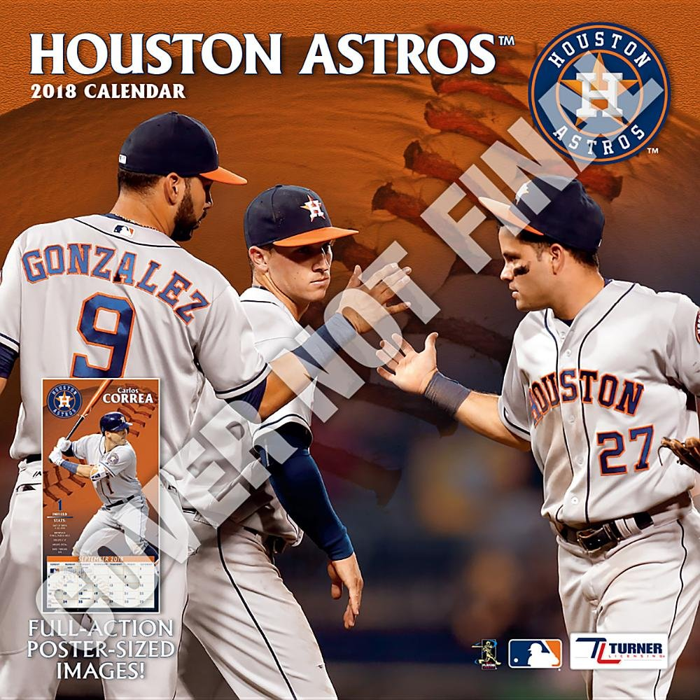 Astros 2019 >> Houston Astros 2019 Calendar Lang Holdings Inc