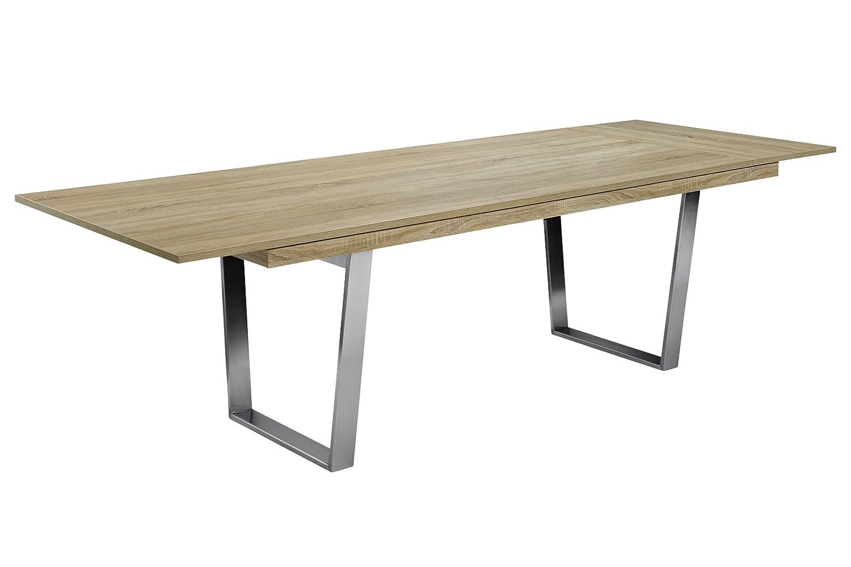 Elegant Holztisch Eiche Ideen Von Esstisch Deck Mit Funktion Metall Speisetisch Eichetisch