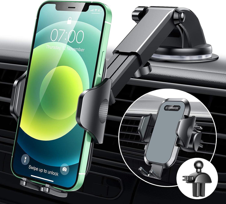 Vanmass Handyhalterung Auto 2021 Version Kfz Elektronik
