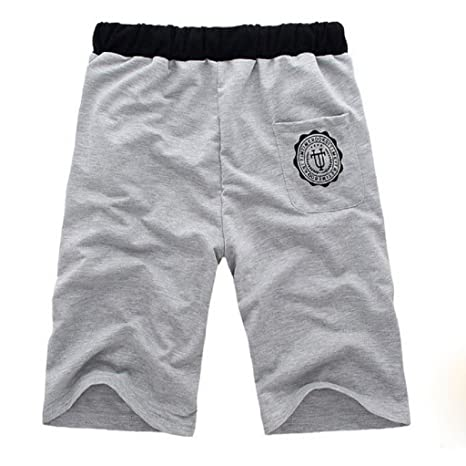 Sannysis Moda Hombre de algodón Pantalones Cortos Gimnasio Sport Jogging  Pantalones  Amazon.es  Ropa y accesorios b959a7acdc85