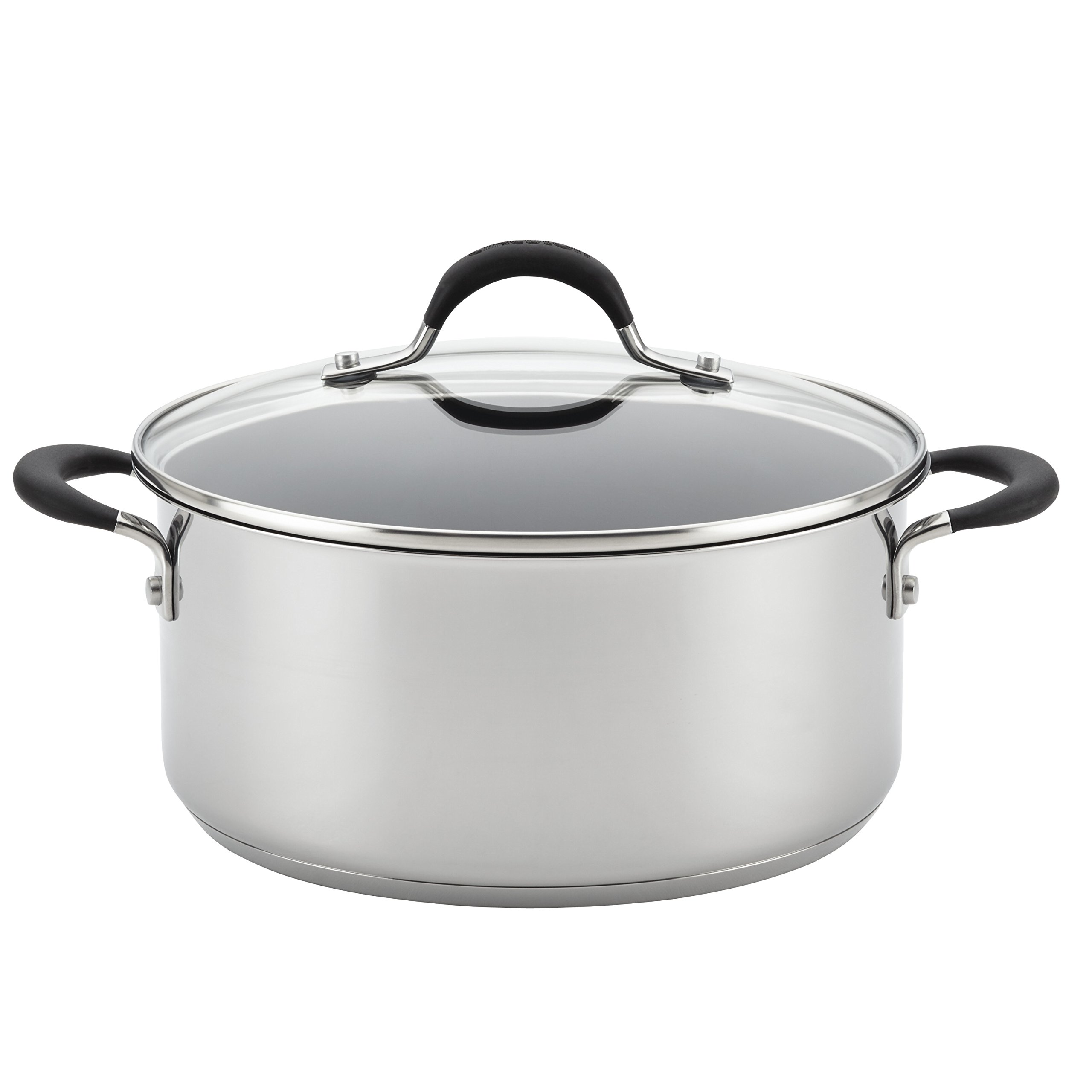 Circulon Momentum Stainless Steel Nonstick 5-Quart Covered Dutch Oven