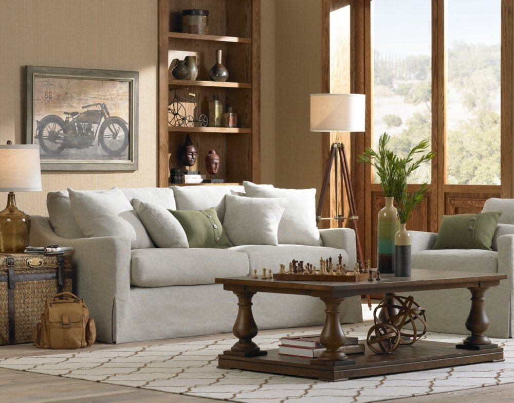 Designer Cherry Finish Tripod Floor Lamp For Living Room By Nauticalmart by NAUTICALMART