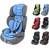 """Clamaro """"Guardian 2017"""" Kinderautositz 9-36 kg 1-12 Jahre Gruppe 1/2/3, ECE R44/04, verstellbarer und mitwachsender Autokindersitz"""