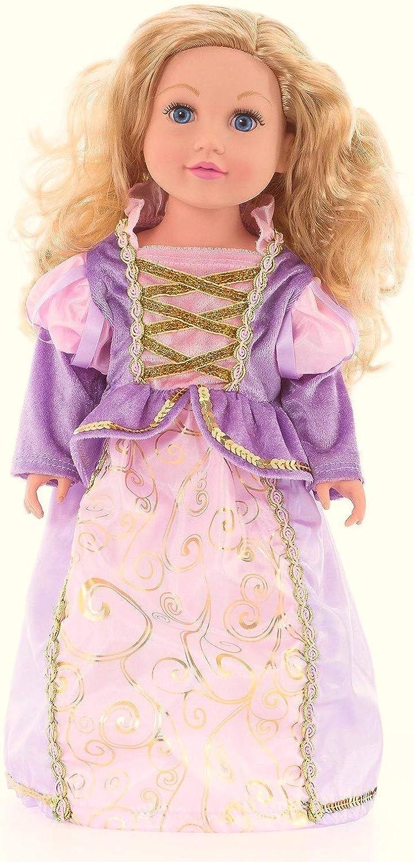 Little Adventures Classic Rapunzel Princess Doll Dress Little Adventures41340