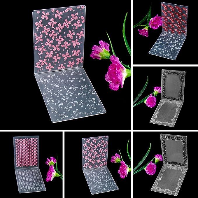 hacer tarjetas y manualidades Plantilla simple Zhuotop de hojas de arce en l/ámina de pl/ástico para forrar