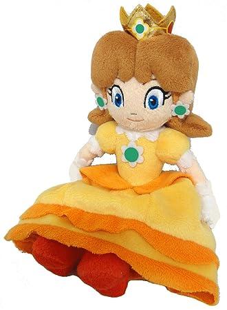 Sanei Super Mario Princess Daisy Peluche