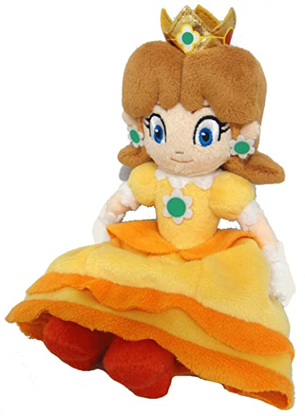 Sanei Super Mario Princess Daisy Plush Doll
