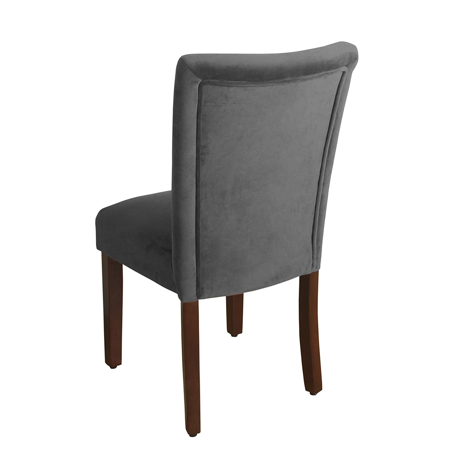 Amazon HomePop Velvet 2 Pack Parson Dining Chair Chairs