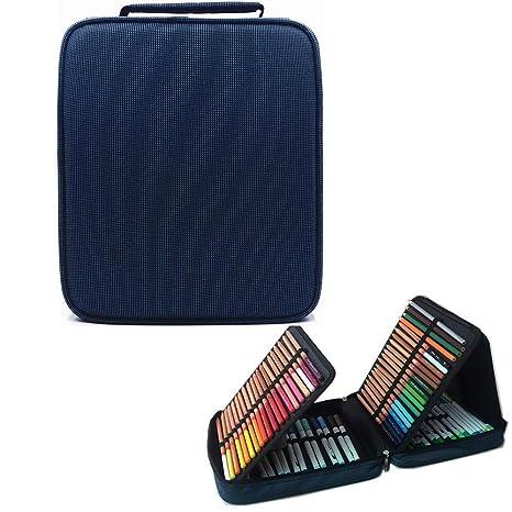 Lumsburry 200 Estuche de lápices de Colores con Ranuras ...