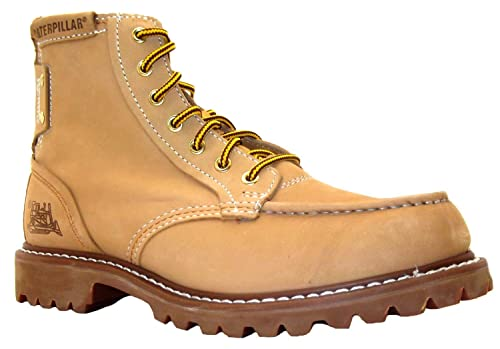 09b41224522e Size 6 Caterpillar Men's Covet Honey Beige Lace Up Leather Ankle Boots