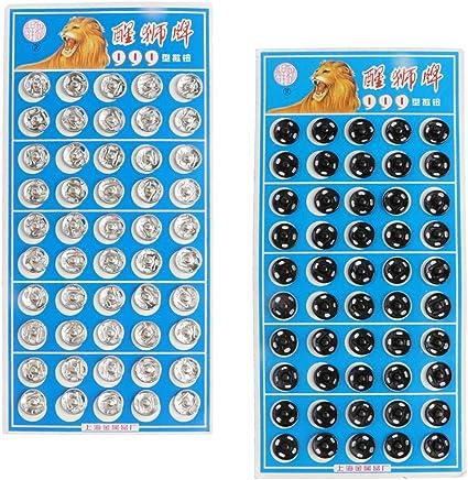 Homyl 100 coppio Botones automáticos Presión pulsantu Coser ...