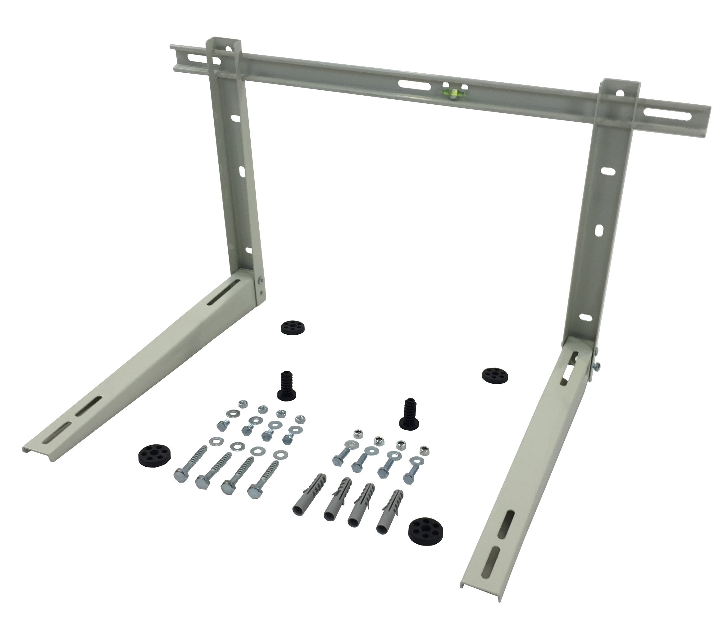Outdoor Wall Mounting Bracket for Air Conditioner Condensing Unit (9K BTU to 24K BTU Crossbar)