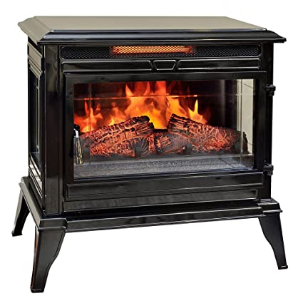 Amazoncom Comfort Smart Jackson Infrared Electric Fireplace Stove