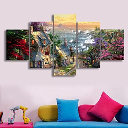 Modern Unframed Abstract Art Oil Canvas Painting Picture Print Home Decor UK