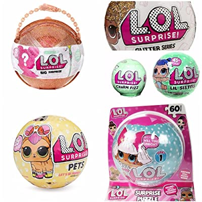 LOL Surprise Puzzle in A Ball Collectibles: Toys & Games [5Bkhe0501965]