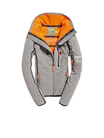 on sale 149dd 2d664 Superdry GS3002SR Jacke Frauen Grau S: Amazon.de: Bekleidung
