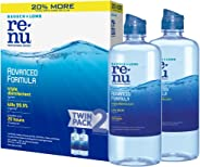 Renu Bausch + Lomb Lens Solution Advanced Triple Disinfect Formula Multi-Purpose, 12 Ounce Bottle Twinpack