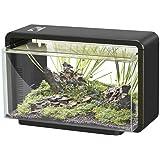 SuperFish Home 25 Litre Aquarium (Black) - Including LED Lights and Internal Filter