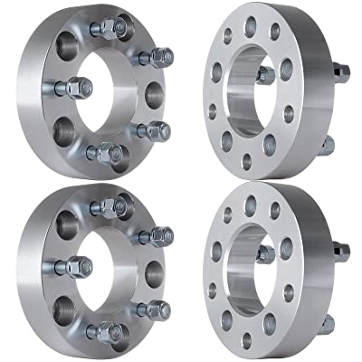 "ECCPP 4X 5 Lug Wheel Spacers Adapters 1.5"" 5x5.5 to 5x5 Fit for Ford Bronco Dodge Ram 1500 with 1/2"" Studs: Automotive"