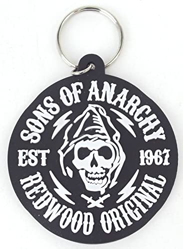 Sons of Anarchy regalo Set – Cartera – Cinturón – Llavero – talla única