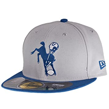 New Era - Gorra, diseño de los Indianapolis Colts Talla:6 7/8 ...