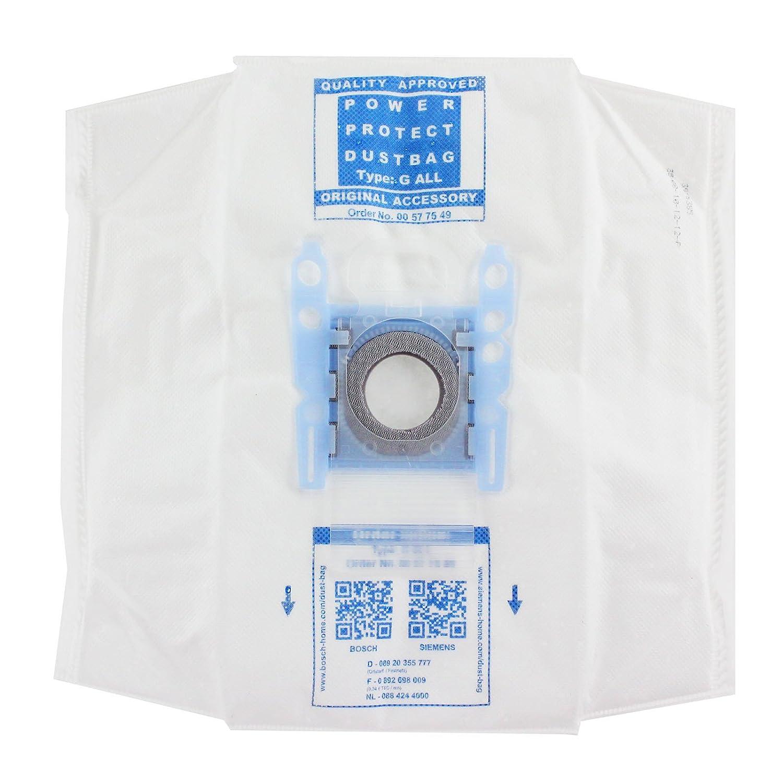 8 X GENUINE BOSCH TYPE G MegaAir SUPERTEX GXXL//GXL POWER PROTECT DUST BAGS