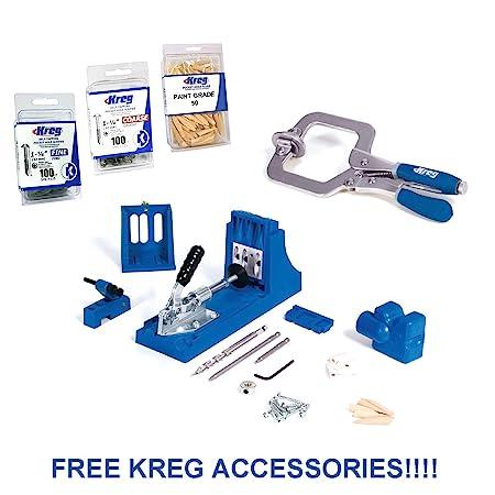 Kreg Pocket Hole Jig K4Ms Kitchen Cabinet Maker Master
