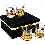 Lighten Life Whiskey Glass Set of 4