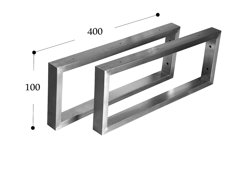 Consola para Lavabo CHYRKA Consola de Pared Acero Inoxidable 201/40/x 20/Soporte para Estantes Soporte para Estante