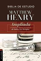 RVR Biblia De Estudio Matthew Henry Tapa