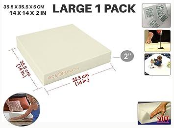 """ACE Perforación de repuesto de alta densidad de espuma de tapicería cojín (14 """""""