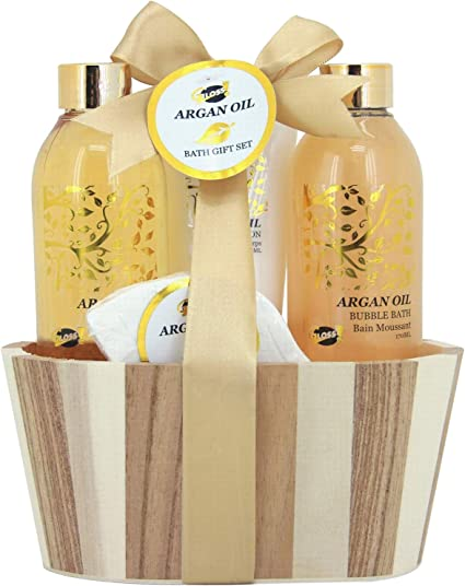 Gloss - caja de baño, caja de regalo para mujeres - Estuche de Baño Regalo - Argan Oil: Amazon.es: Belleza