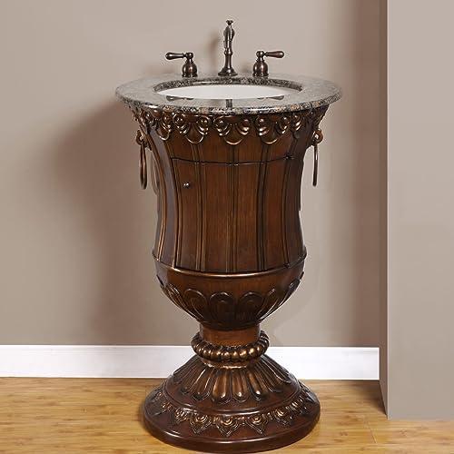 Silkroad Exclusive HYP-0141-BB-UIC-23 Bathroom Vanity