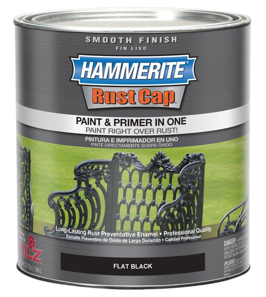 Masterchem Industries 44235 Smooth Flat Paint, Black