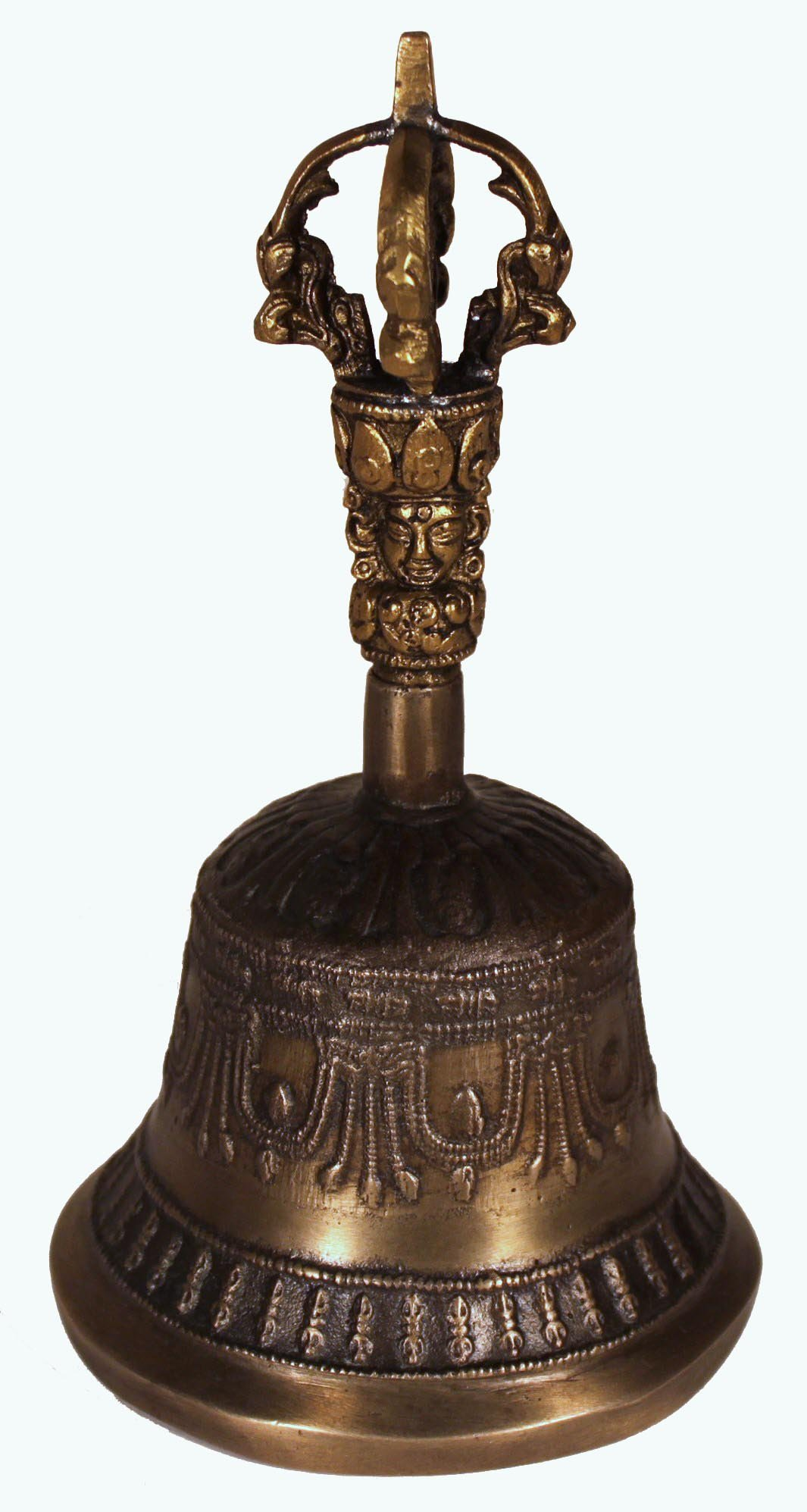 Antique Bell / Tibetan Meditation Bell / Tibetan / Multi-Layered Harmonics / Meditation Tool