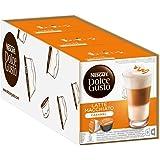 Nescafé Dolce Gusto Latte Macchiato Caramel, Lot de 3, 3 x 16 Capsules (24 Portions)