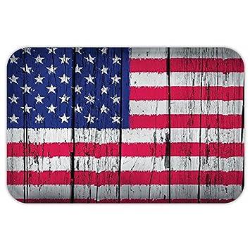 kisscase Custom puerta matrustic Decor American cuarto de julio día de la independencia de bandera de