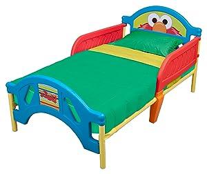 Delta Children Plastic Toddler Bed, Sesame Street